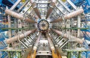 The ATLAS detector at CERN's Large Hadron Collider.