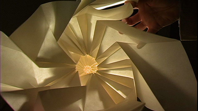 Paper sculpture by Chris Palmer