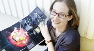 Emma Sanders (Photo courtesy of CERN)