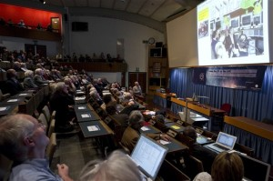 """""""From the Proton Synchroton to the Large Hadron Collider- 50 Years of Nobel Memories in High-Energy Physics"""" Symposium at CERN."""