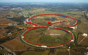 How the LBNE would fit into the Fermilab accelerator complex. Courtesy Fermilab.