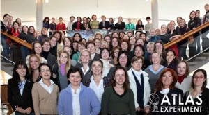 A portion of the women on the ATLAS experiment, from the ATLAS International Women's Day poster.