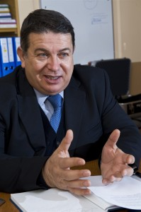 Sergio Bertolucci. Photo: CERN
