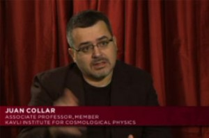 University of Chicago physicist Juan Collar discusses the search for dark matter (1:30). (Source: Chicago Media Initiatives Group)