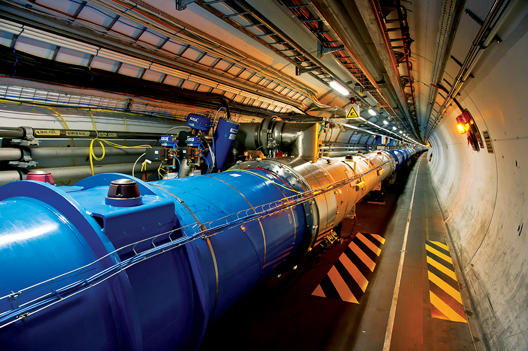 Photo of LHC (Tunnel)