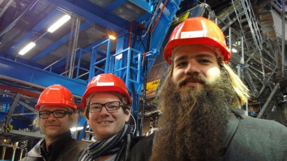 Photo: Julius von Bismarck at CERN