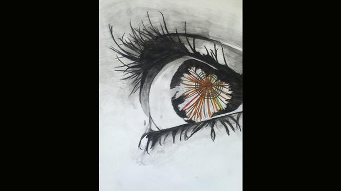 Image: Collision: Higgs Eye