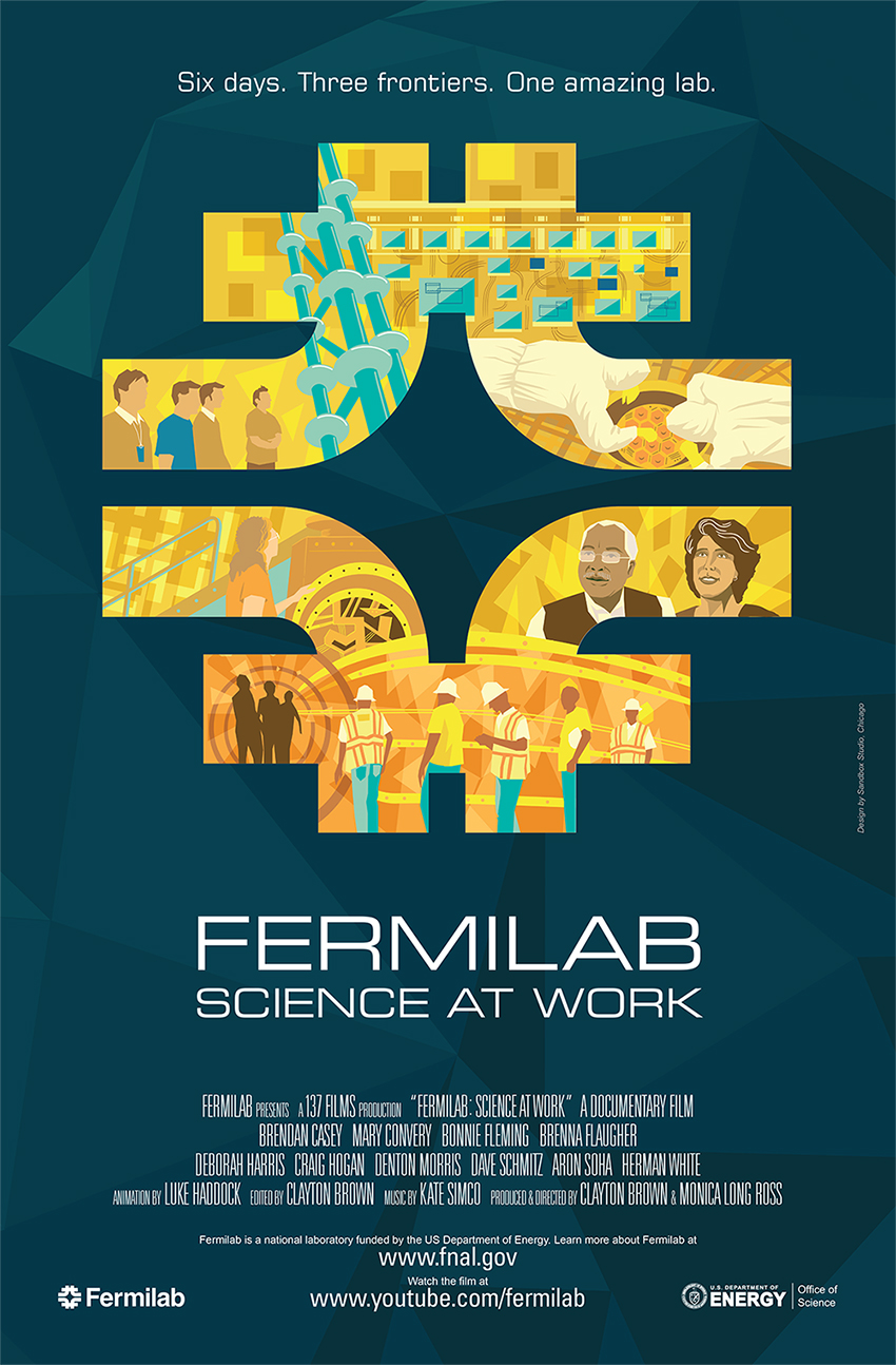 Image: Science at Work poster