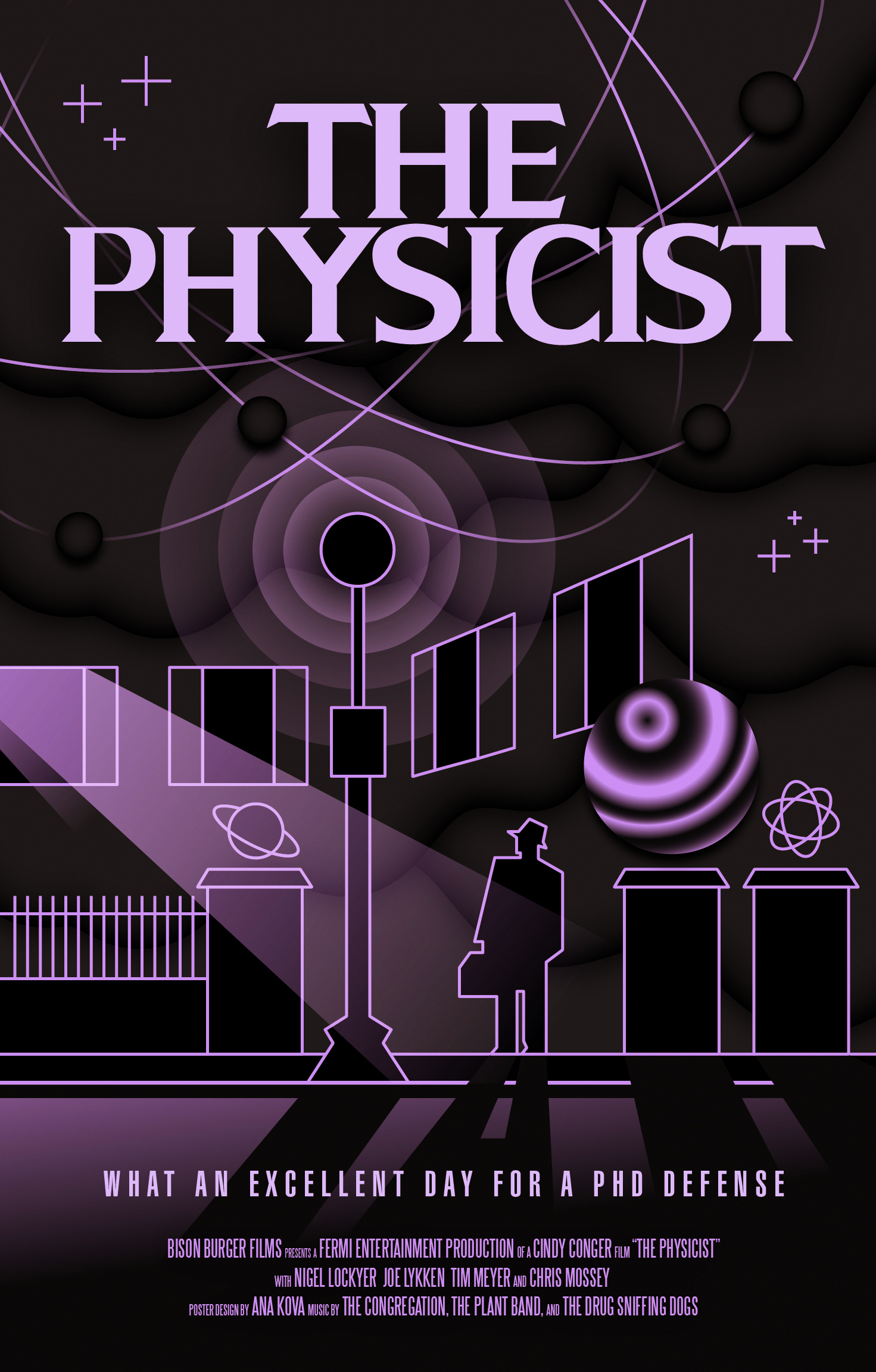 Halloween Poster: The Physicist