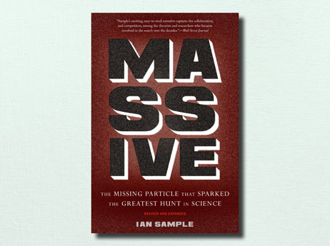 "Illustration of book cover ""MASSIVE"" written by Ian Sample"
