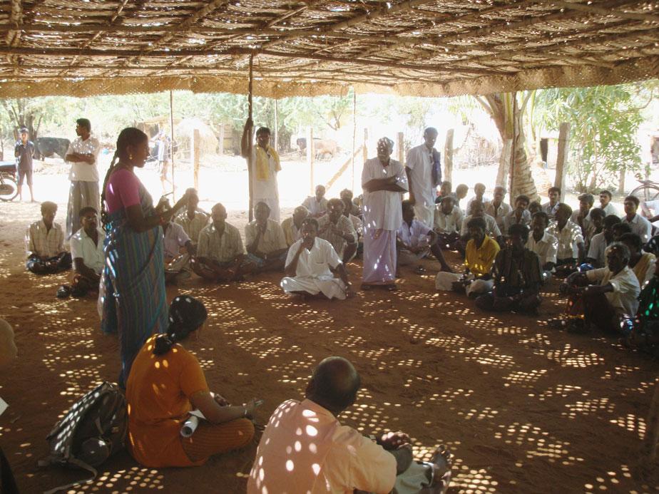 Photo of INO meeting