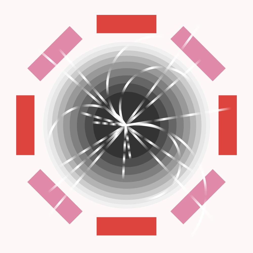 Higgs boson illustration