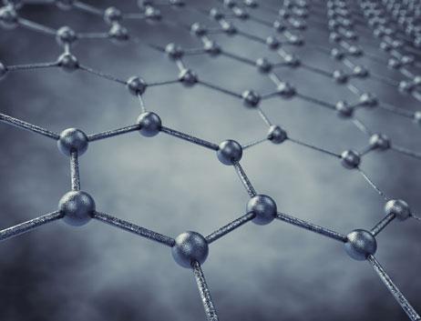 Photo of linked instrumentation graphene fence