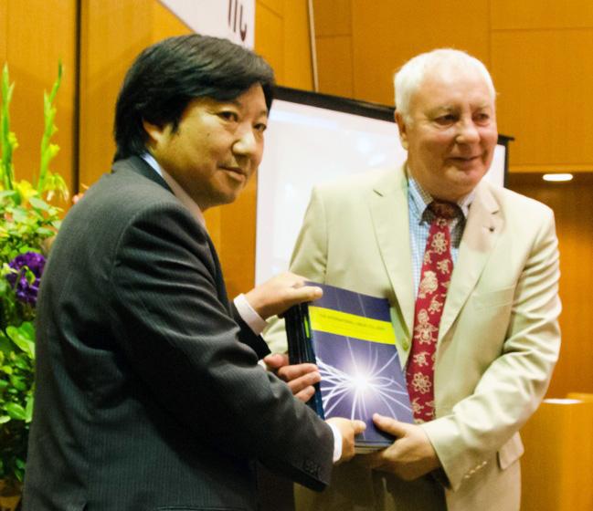Image: Japan ILC TDR handoff