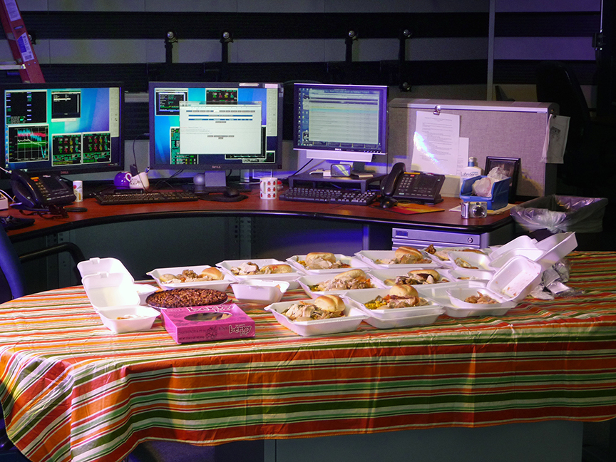 S2B: Thanksgiving in the Main Control Room