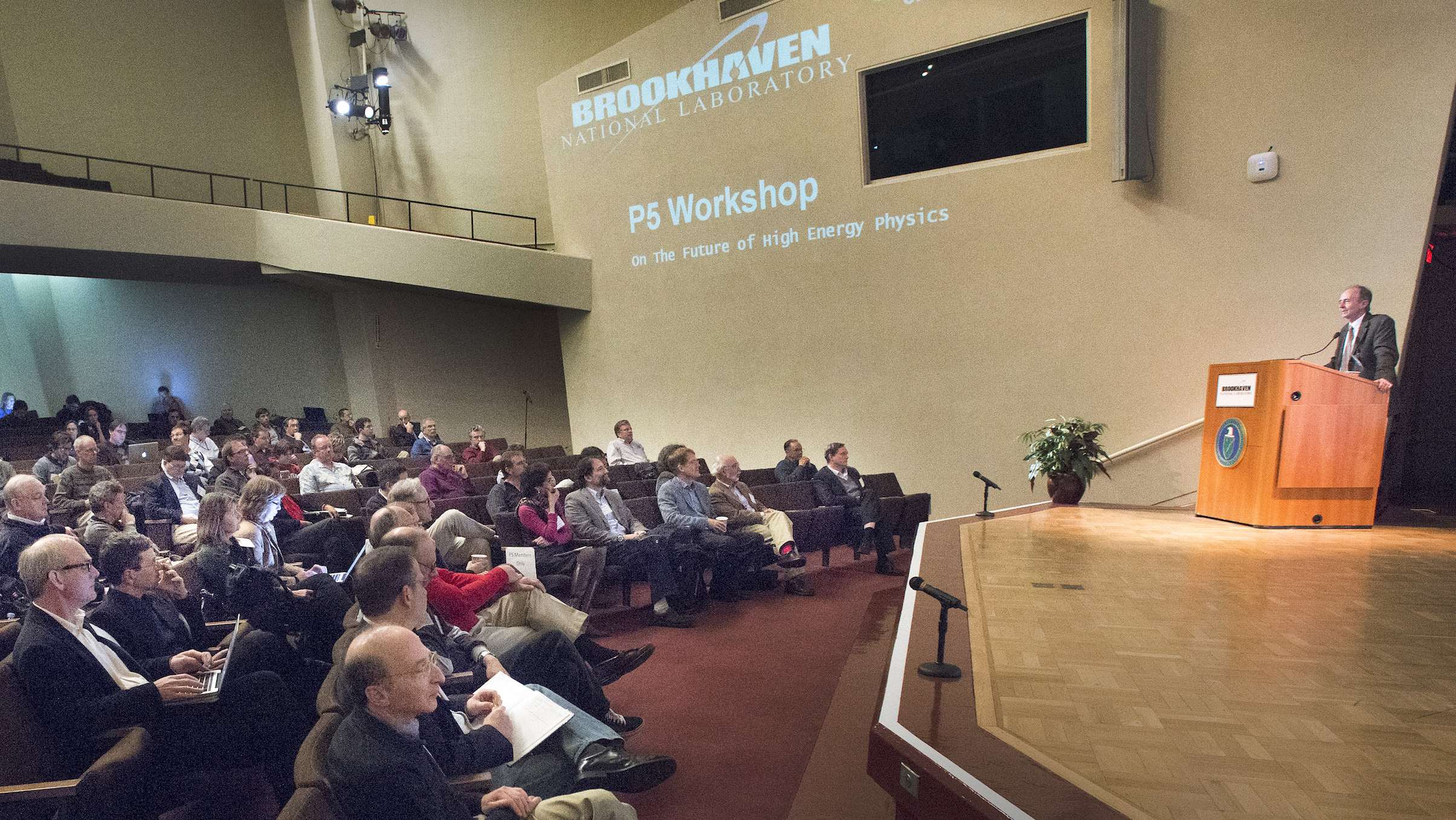 200 physicists gathered at Brookhaven National Laboratory in New York this week to focus on future accelerator-based experiments