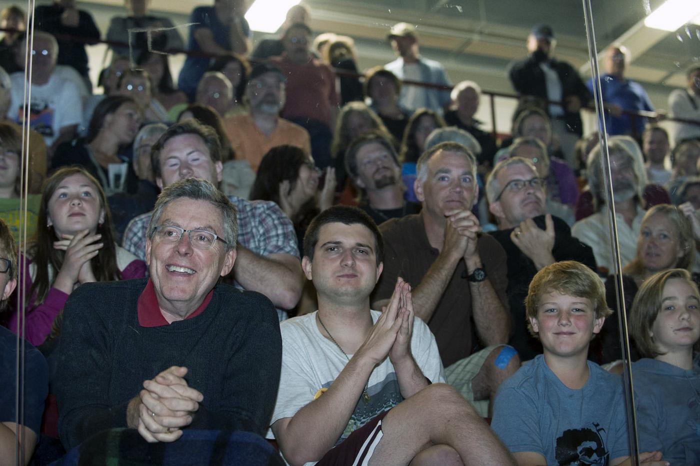 Photo of Physics Slam on ice audience