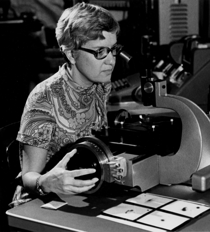 Vera Rubin at scope
