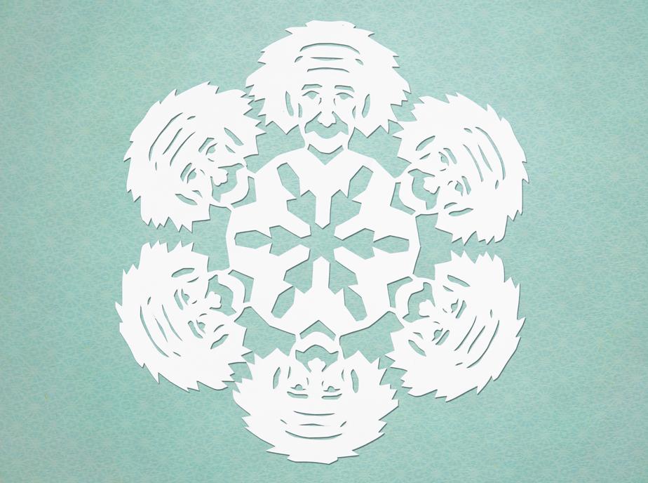 Snowflake Einstein