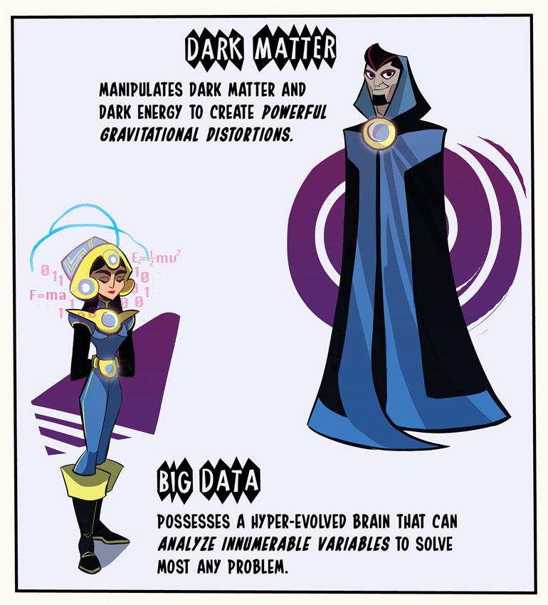 Superheroes: BigData DarkMatter