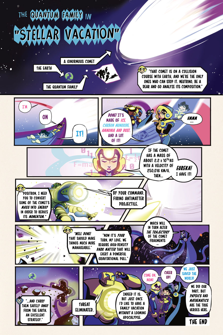 Illustration of Superheroes: Comic Page