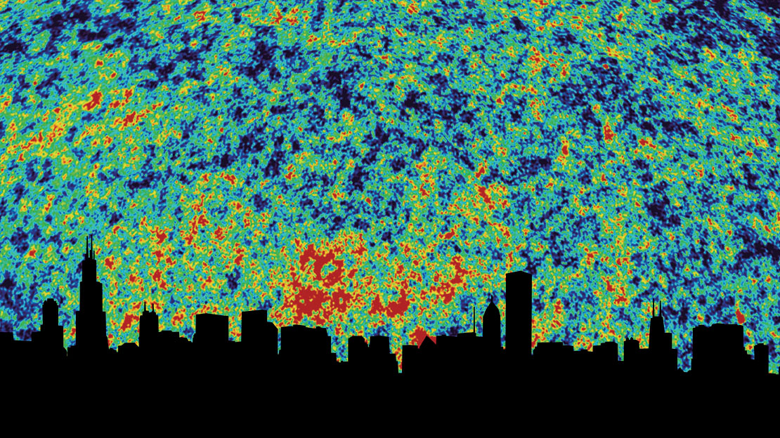 Chicago Cosmic Microwave Background