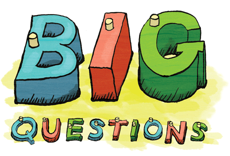 Illustration of Neutrinos: Big Questions
