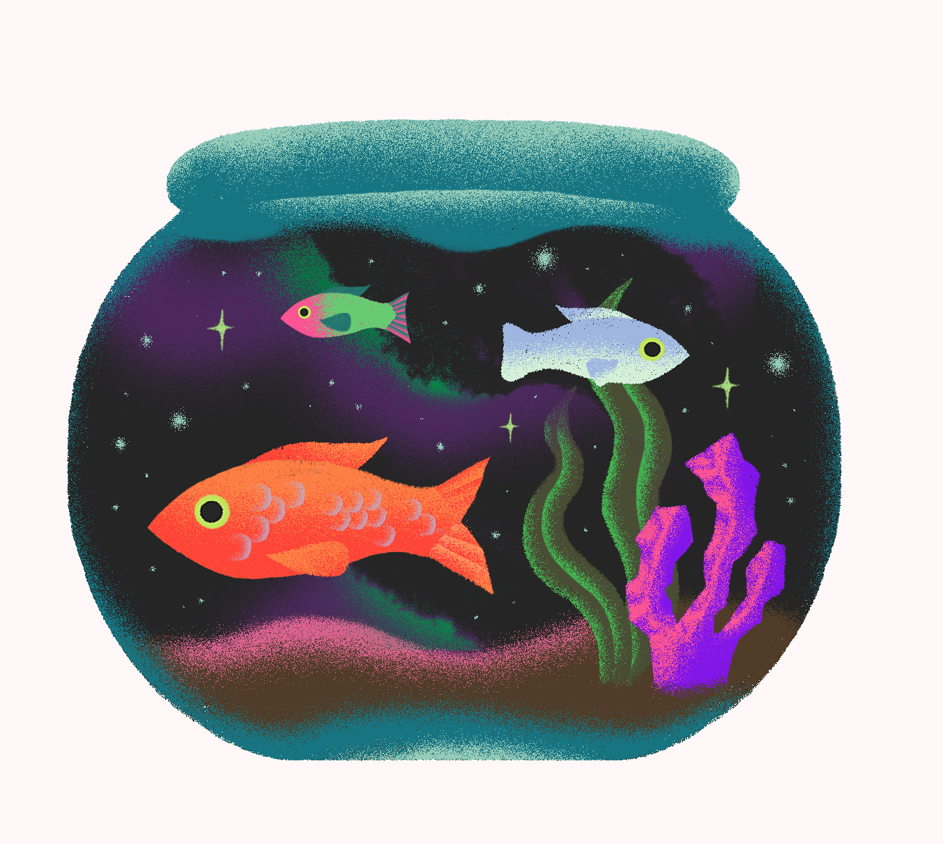 Fishbowl full of space