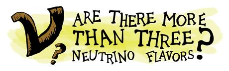 Illustration Neutrinos: Three Flavors