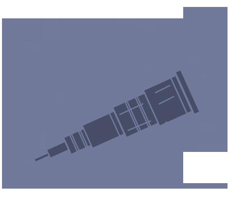 Image: Dark Universe Body Illustration, Telescope