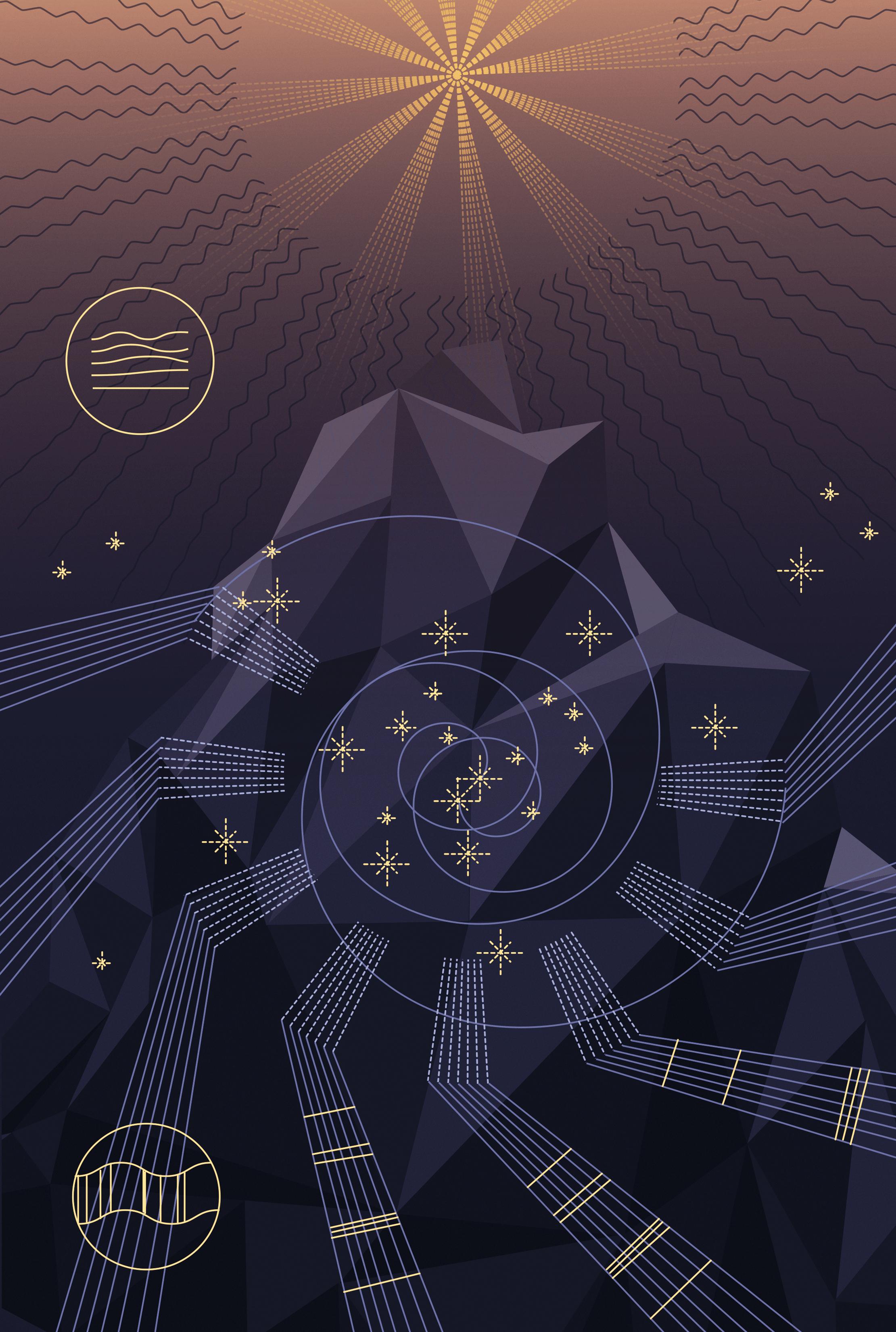 Dark universe: Spectroscopy
