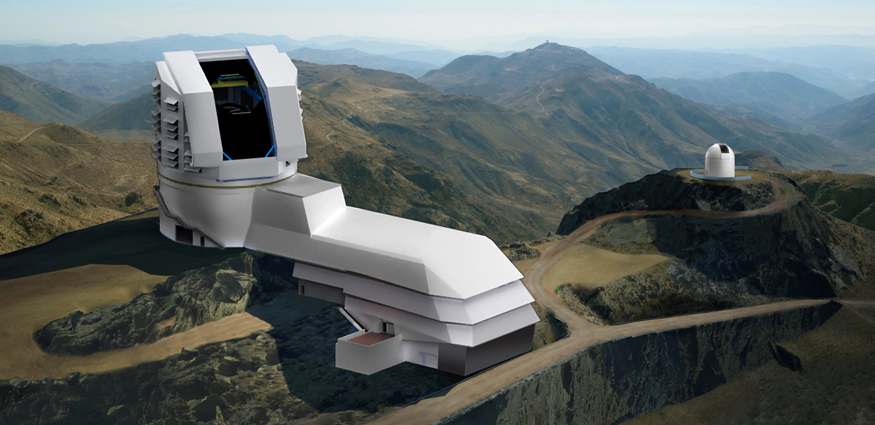 Photo of LSST rendering