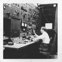 Mark II accelerator control room