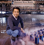 Harry Yeh and the NEES Tsunami Wave Basin at the Oregon State University College of Engineering