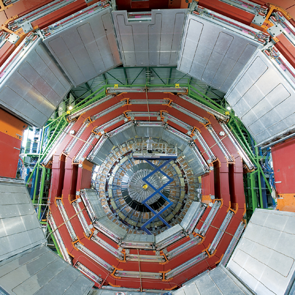 The giant CMS detector takes shape at CERN