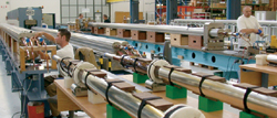 Industry partners manufacture magnets using CERN's designs and processes.