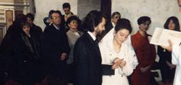 Patrizia Azzi and Nicola Bacchetta