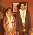Pushpa and Chandra Bhat