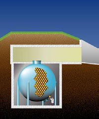 Illustration: MiniBooNE detector