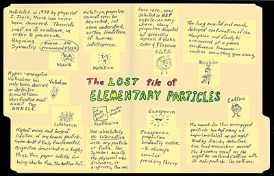 The Lost File of Elementary Particles
