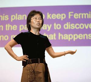 Fermilab Deputy Director Young-Kee Kim