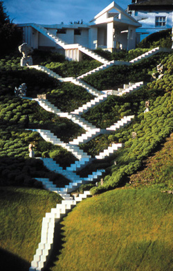 charles jencks the garden of cosmic speculation symmetry magazine. Black Bedroom Furniture Sets. Home Design Ideas