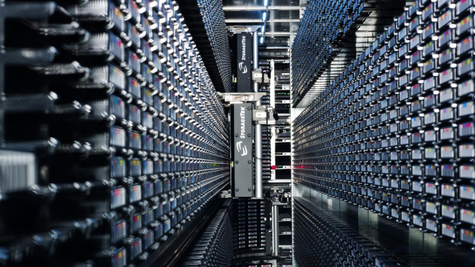 Photo of 100 petabytes