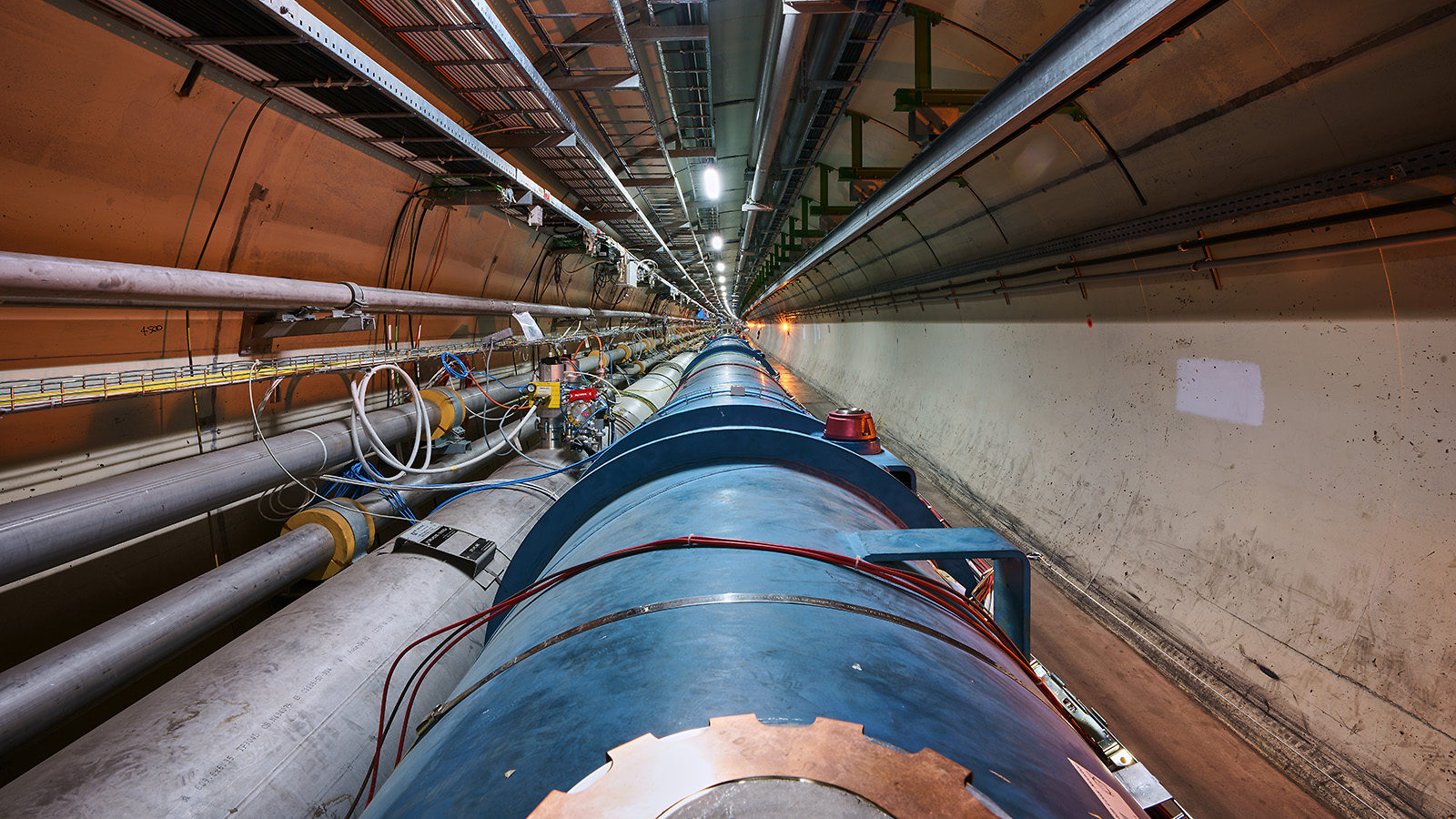 The LHC stretches into the distance