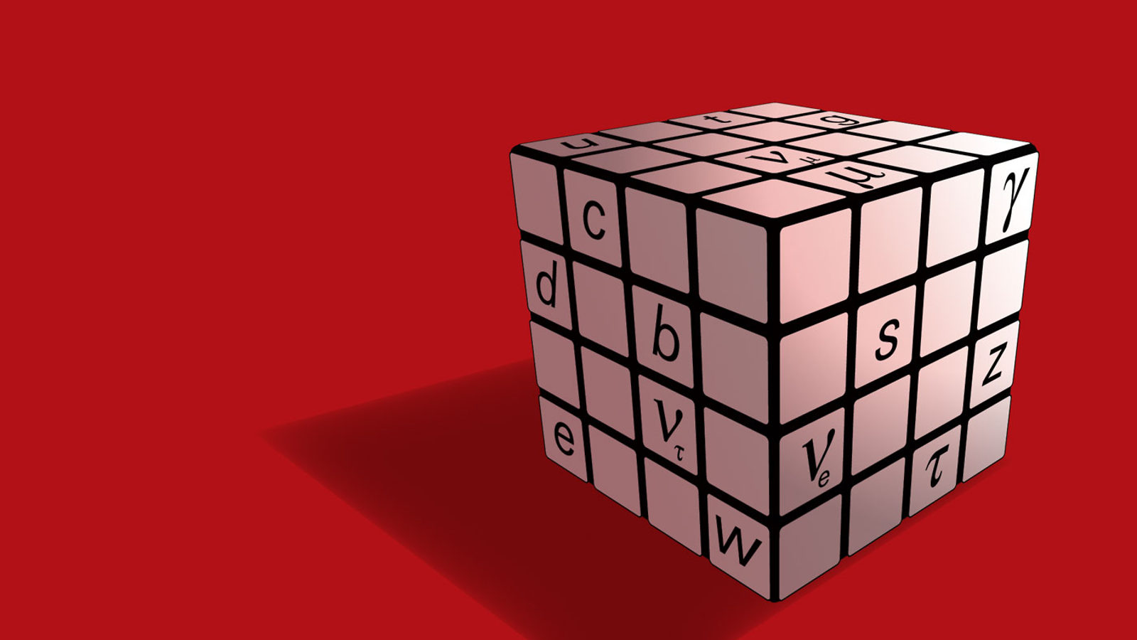 Illustration of Standard Model Cube