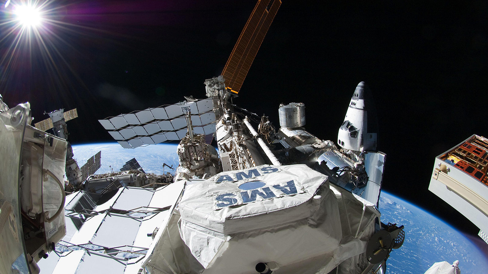 Researchers Make Progress in the Hunt for Dark Matter Through Space Station Particle Detector