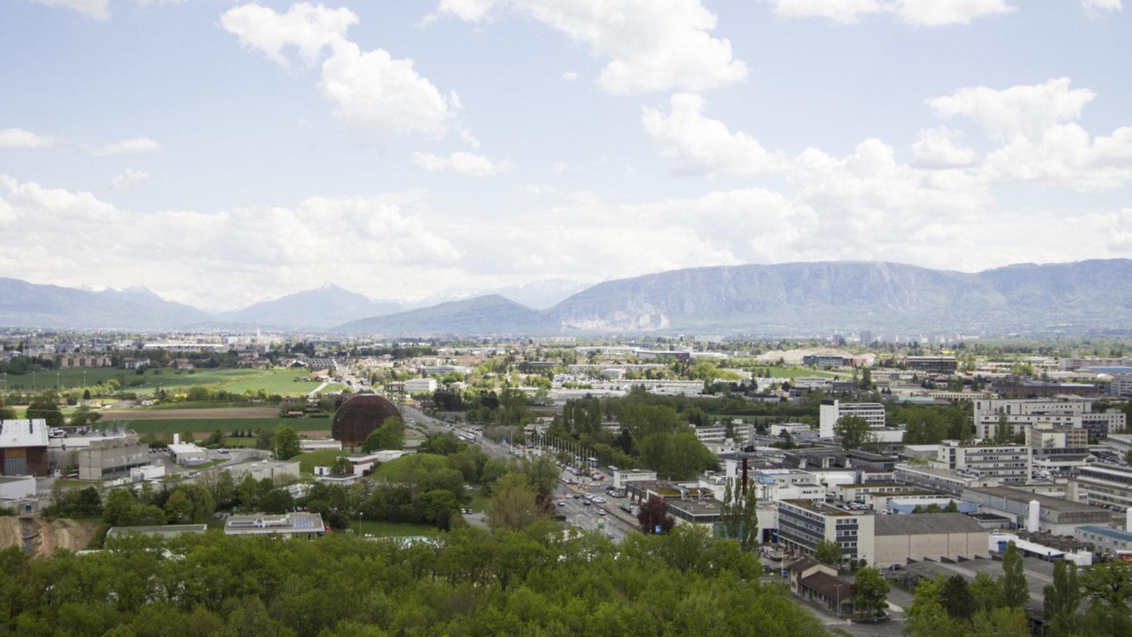 Photo of CERN aerial