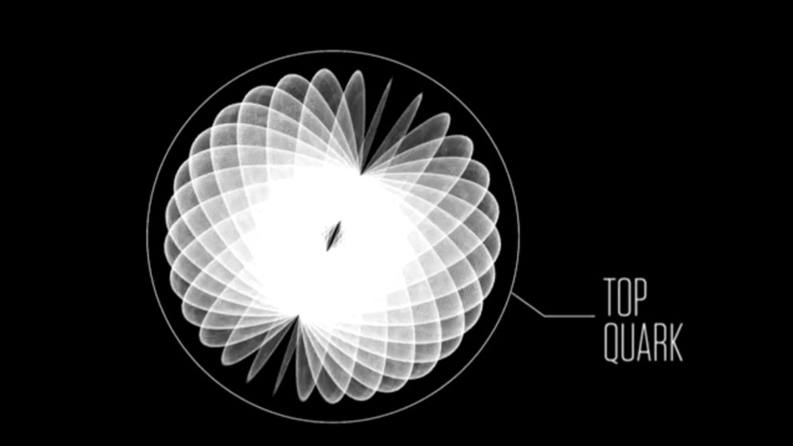 Video still image of top quark