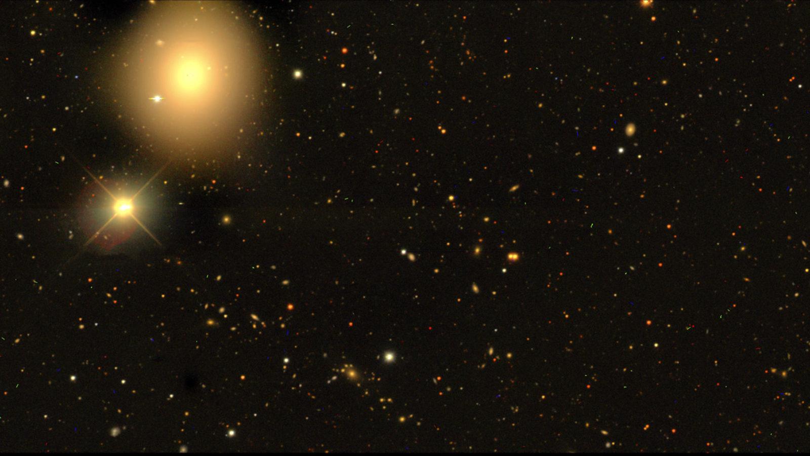 Photo of Dark Energy Survey Start