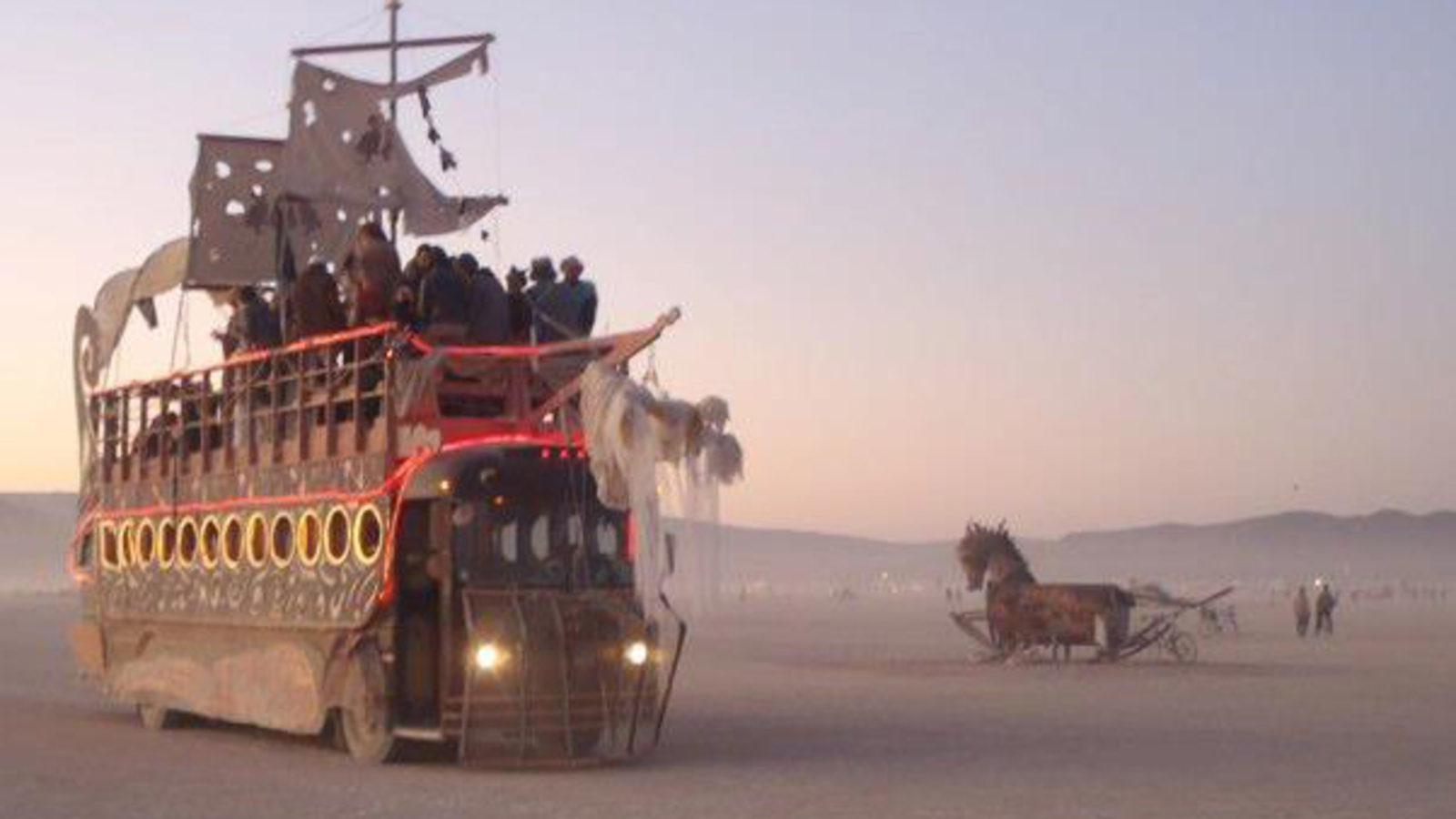 Photo of Dodobus at Burning Man